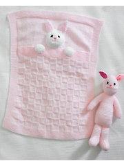 4006: Rabbit Blankets & Toy Knit Pattern