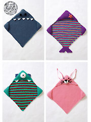 5081: Hooded Blankets Knit Pattern
