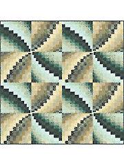 Bargello Pinwheel Quilt Pattern