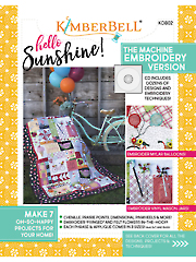 Hello Sunshine! Embroidery CD