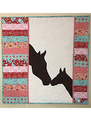 Mare and Foal Quilt Pattern