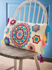 ANNIE'S SIGNATURE DESIGNS: Bliss Pillow Crochet Pattern