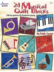 Musical Quilt Blocks Book