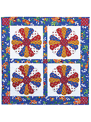 Classic Dresden Plates Quilt Pattern
