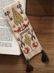 Woodsy Bookmark Cross Stitch Pattern