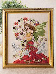 Peace Angel Cross Stitch Pattern