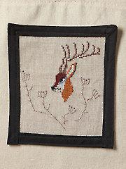 Deer Cross Stitch Pattern