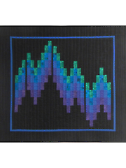Bargello Northern Lights Quilt Pattern
