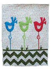 Bird on a Stick Quilt Pattern