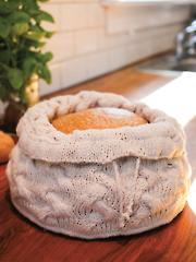 Cabled Braid Bread Warmer Knit Pattern