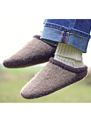 Adult Clog-n-Soc Knit Pattern