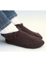 Adult Moc-a-Soc Knit Pattern