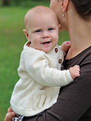 Baby Bell Cardigan Knit Pattern