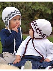 Baby Nordik Hat Knit Pattern