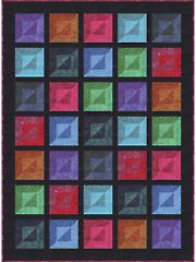 Bevelled Quilt Pattern