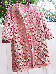 Baggy Lace Cardigan
