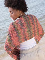 Arcade Shawl Knit Pattern