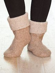Felted Slippers - Electronic Download AC04224