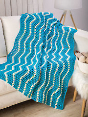 Bubbly River Blanket - Electronic Download AC04217