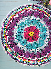 Color Wheel Table Mat - Electronic Download AC04207