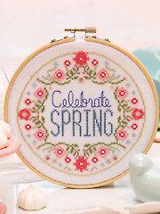 Celebrate Spring Cross Stitch Pattern