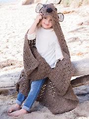 Bear Blanket Crochet Pattern