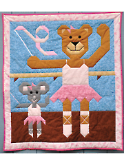 Ballerinas Quilt Pattern
