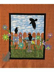 A Murder in the Garden Quilt Pattern