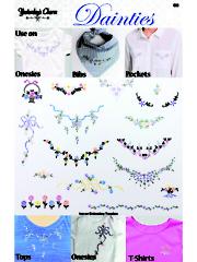 Dainties Iron On Embroidery Designs
