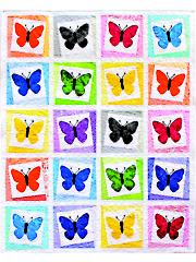 Beautiful Butterflys Quilt Pattern