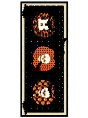 Batty Table Runner Pattern