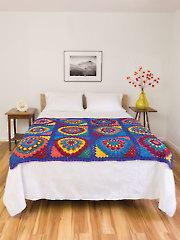 Mandala Granny Afghan Crochet Pattern