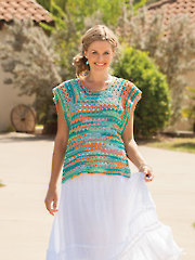 ANNIE'S SIGNATURE DESIGNS: Lahaina Top Crochet Pattern