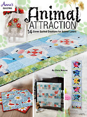 Animal Attraction Quilt Pattern Book