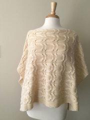 Cavi Poncho Knit Pattern