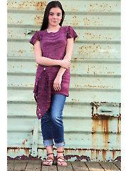 Fruscio Pullover Knit Pattern