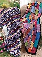 Scrap Happy Afghans Crochet Pattern