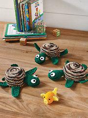 Turtle Shell Game Crochet Pattern