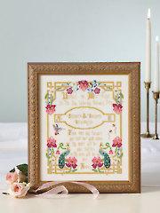 Paradise Wedding Sampler Cross Stitch Pattern