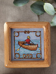 Gifts for Dad & Mom: Fisherman Dad Cross Stitch Pattern