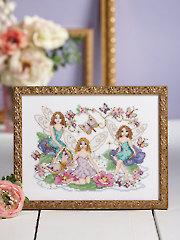 Magical Fairies Cross Stitch Pattern