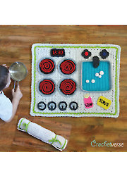 Kitchen Play Mat - Electronic Download