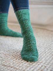 Emerald City Socks Knit Pattern