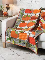 EXCLUSIVELY ANNIE'S QUILT DESIGNS: Pumpkin Harvest Quilt Pattern