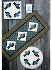 Blue Bird Table Topper Quilt Pattern