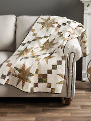 EXCLUSIVELY ANNIE'S QUILT DESIGNS: Tonga Stars Quilt Pattern