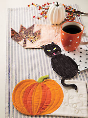 EXCLUSIVELY ANNIE'S QUILT DESIGNS: Autumn Mug Rugs Pattern