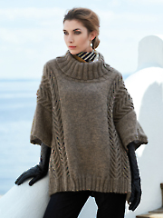 Andor Poncho Knit Pattern