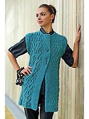 Arcade Vest Knit Pattern