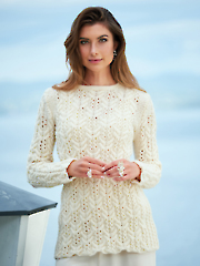 Cablewing Sweater Knit Pattern